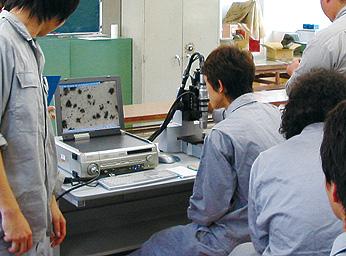 金属組織のデジタル顕微鏡観察