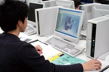 3D CADによる製図