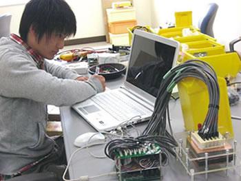 燃料電池における発電システムの研究画像