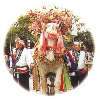 初午祭(鈴かけ馬踊り)