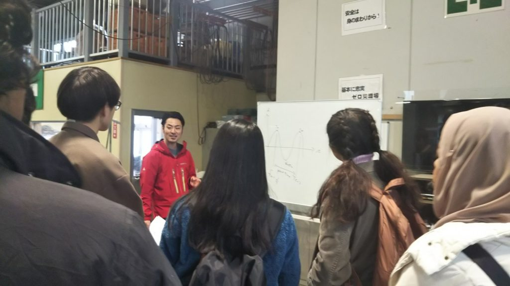 マレーシア工科大学の学生がやってきました