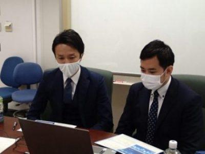 外村氏(右)・海江田氏(左)による特別講演