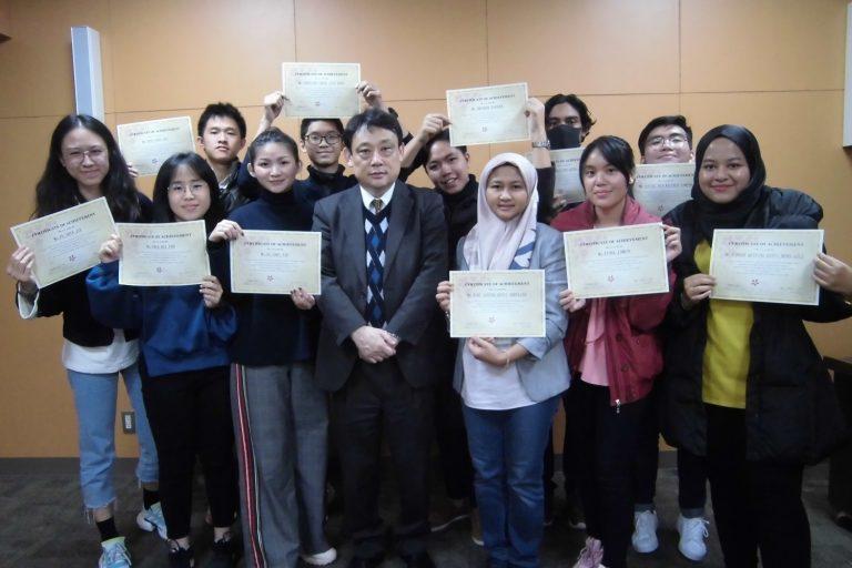 マレーシア工科大学の学生がやってきました9